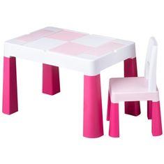 Tega Dětská sada stoleček a židlička Multifun pink