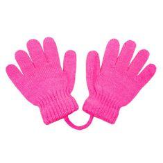 NEW BABY Dětské rukavičky New Baby tmavě růžové - 104 (3-4r)