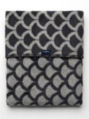 Womar Dětská bavlněná deka se vzorem Womar 75x100 šedo-grafitová