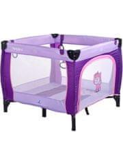 Caretero Dětská skládací ohrádka CARETERO Quadra purple