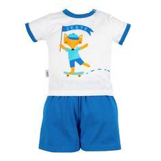 NEW BABY Kojenecká souprava tričko a kraťásky New Baby Liška - Kojenecká souprava tričko a kraťásky New Baby Liška