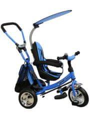 Baby Mix Dětská tříkolka Baby Mix Safari blue