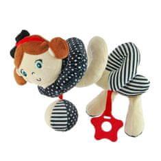 Baby Mix Hračka na postýlku Spirála Baby Mix námořník holka