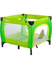 Caretero Dětská skládací ohrádka CARETERO Quadra green