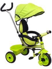 Baby Mix Dětská tříkolka Baby Mix green
