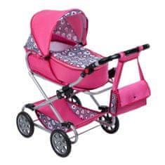 NEW BABY Dětský kočárek pro panenky 2v1 New Baby Růženka