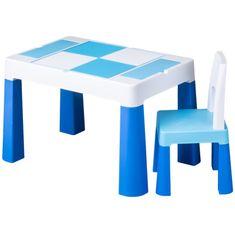 Tega Dětská sada stoleček a židlička Multifun blue