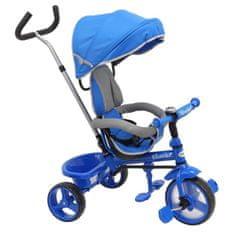 Baby Mix Dětská tříkolka Baby Mix Ecotrike s bezpečnostními pásy light blue