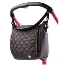 Caretero Prošívaná taška na kočárek CARETERO graphite