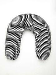 Womar Univerzální kojící polštář Womar bílo-černý