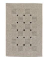 Astra - Golze Kusový koberec Andria 163004 Squares Silver