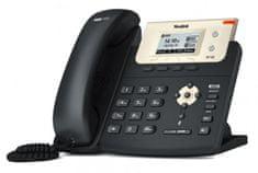"YEALINK SIP-T21 E2 - IP telefon, 2x SIP účty, LCD 2,3"" 132x65 pix - podsvícený, 2x prog. tl., 2x RJ45 Mb/s"