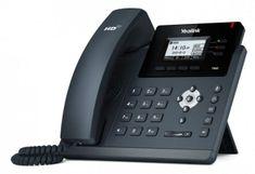 """YEALINK SIP-T40G - IP telefon, 3x SIP účty, LCD 2,3"""" 132x64pix - podsvícený, 3x prog. tlačítek, POE, GigE"""