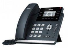 """YEALINK SIP-T41S - IP telefón, 6x SIP účtov, LCD 2,7 """"192x64pix - podsvietený, 15x prog. Tlačidiel, POE, 100Mb / s"""