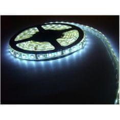 Elite LED páska SMD5050, studená bílá, 12V, 1m, IP68, 60 LED/m