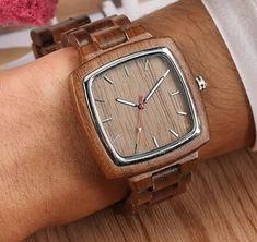 Belmonde Dřevěné hodinky Duncan