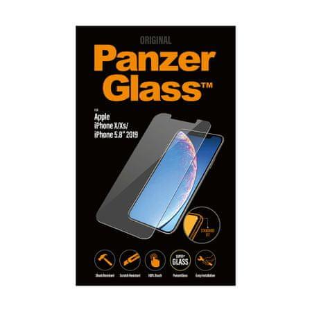 PanzerGlass szkło ochronne Standard, Apple iPhone X/Xs/11, przezroczysty