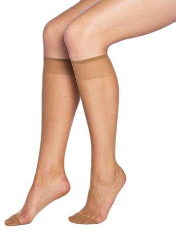 Bellinda Zestaw nylonowych skarpet na kolana 4-pak Fly Knee High ts 15 DEN BE203025-230-U