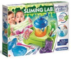Clementoni Laboratorium dziecięce - Produkcja szlamu, duży zestaw