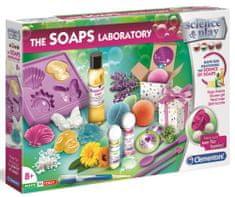 Clementoni laboratorium dla dzieci - produkcja mydła