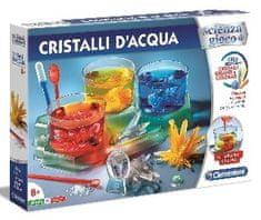 Clementoni laboratorium dla dzieci - produkcja świecących kryształów