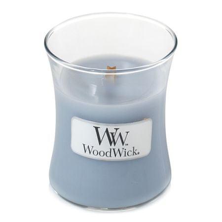 Woodwick Dišeča vaza za sveče Soft Chambray 85 g
