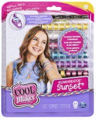Spin Master Cool Makers Náhradní nitě do náramkovače - sunset