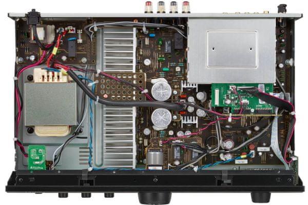 moderný zosilňovač denon pma-600ne 2kanálové prevedenie 70 w výkon Bluetooth hi-fi súčiastky ovládanie optické digitálne vstupy antivibračná konštrukcia mm gramo predzosilňovač analógový mód