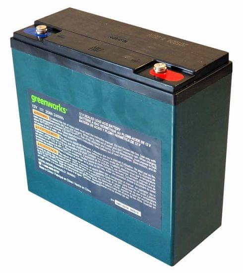 Greenworks Akumulátor olovený 12V 20Ah