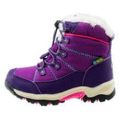Bejo dětská zimní obuv AMIR KIDS PURPLE/FUCHSIA/TURQUOISE
