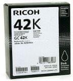 Ricoh  Gelová náplň GC42 černý (405836).