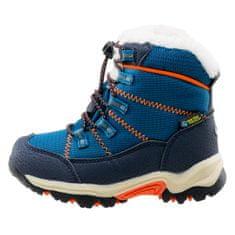 Bejo dětská zimní obuv AMIR KIDS PEACOCK BLUE / NAVY / ORANGE