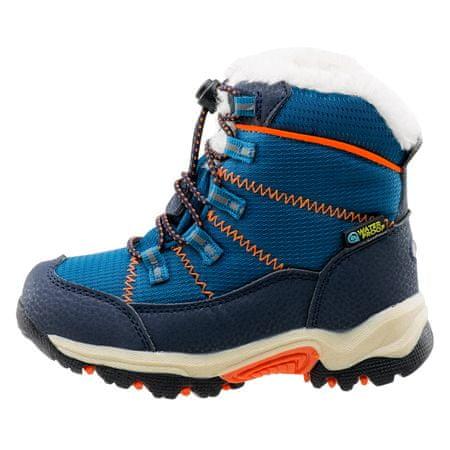 Bejo dětská zimní obuv AMIR KIDS PEACOCK BLUE / NAVY / ORANGE 22.0