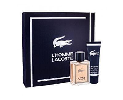Lacoste L`Homme toaletna voda 50ml + gel za prhanje 50ml