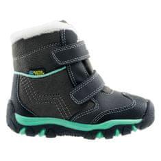 Bejo detská zimná obuv DAISY MID KIDS DARK GREY / MINT