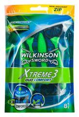 Wilkinson Sword XTREME 3 DUO COMFORT bag jednorazový holiaci strojček 8 ks