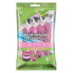 Wilkinson Sword XTREME 3 Beauty Sensitive jednorazový holiaci strojček 8 ks