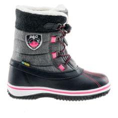 Bejo Otroški zimski čevlji, črno sivi