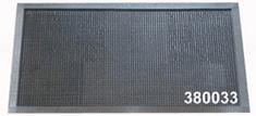 TORO Rohožka gumová s hrotmi 38x68 cm čierna