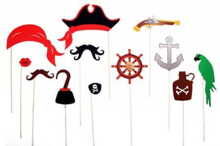 TORO Party foto doplňky Piráti 12 ks