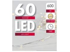 Toro Řetěz 60 LED světel, vnitřní s časovačem