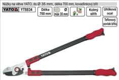 YATO Nůžky na větve YATO 700mm kovadlinkový břit převodové