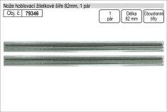 Vorel Nože do hoblíku žiletkové šíře 82mm, 1 pár