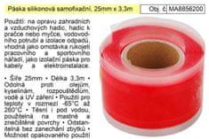 Extol Premium Páska silikonová samofixační, 25mm x 3,3m Extol Premium 8856200