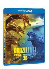 Godzilla II Král monster 3D+2D (2 disky) - Blu-ray