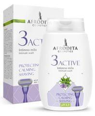 Kozmetika Afrodita 3 Active, intimno milo, 200 ml