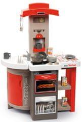 Smoby Kuchyňka Tefal Bubble skládací elektronická, červená