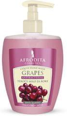 Kozmetika Afrodita Grapes, tekući sapun 300 ml