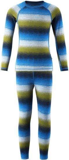 Reima dětské funkční prádlo Taival 80 modrá