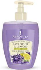 Kozmetika Afrodita Lavender & Lemon, uljni tekući sapun, 300 ml